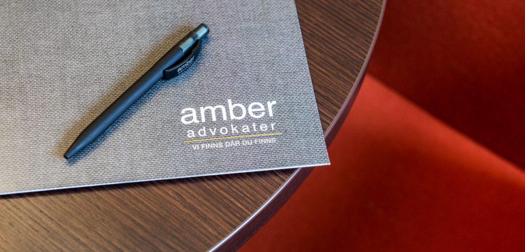 Kontakta oss på Amber Advokater!