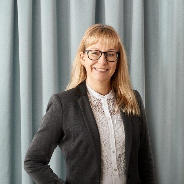 Ann-Charlott Bergkvist, ekonomiansvarig i Jönköping