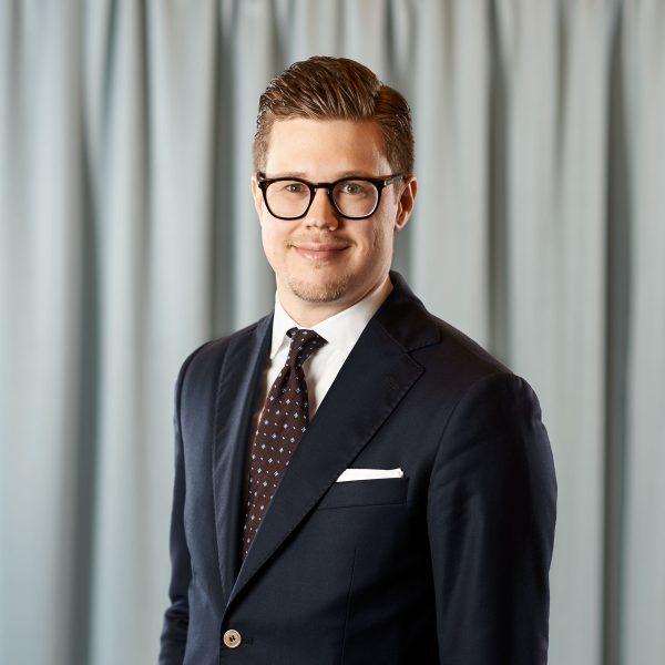 Christopher Jöryd, biträdande jurist